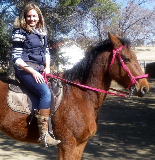Horse riding Mountain Cottage Accommodation trails